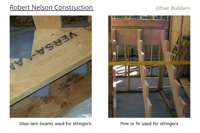 Stair Stringers : Robert Nelson Construction